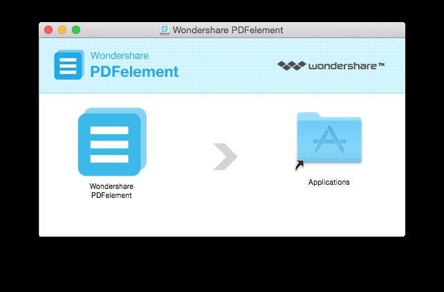 instalar pdfelement no mac