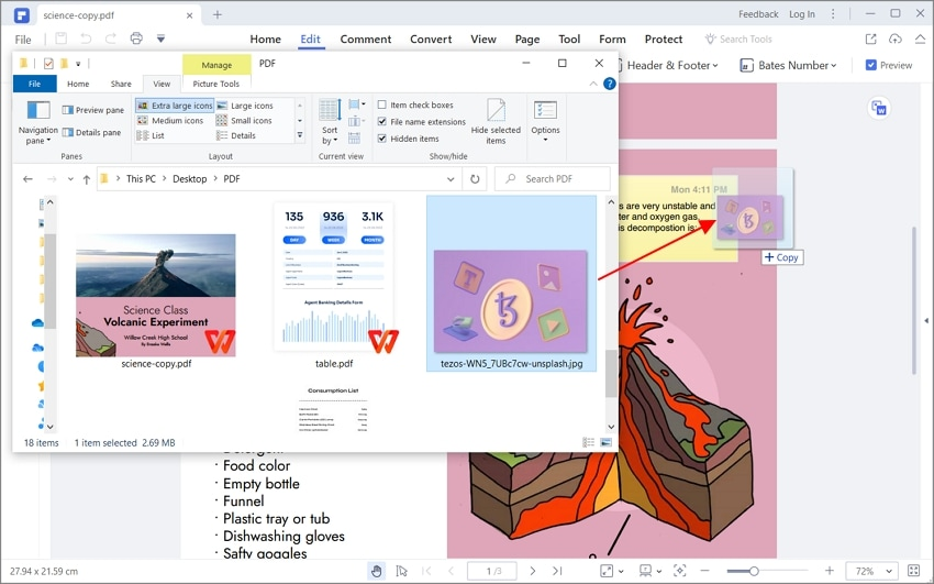 how to add picture to pdf
