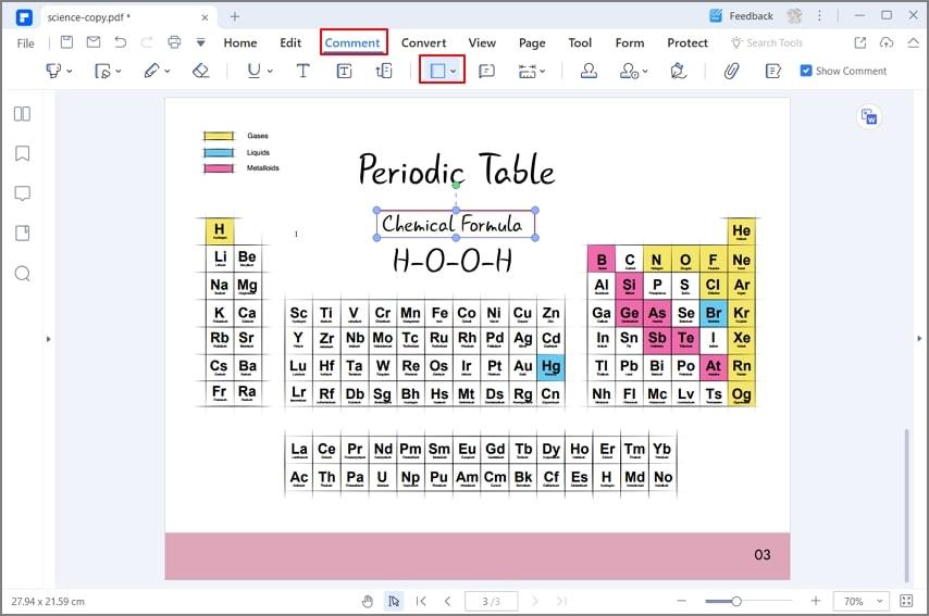 add borders in pdf