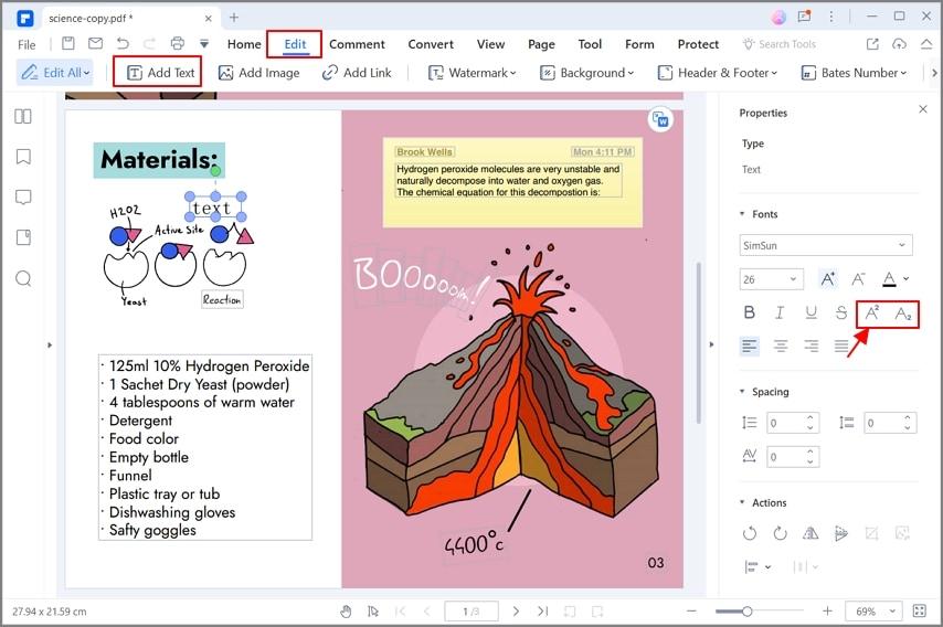 add a video to pdf