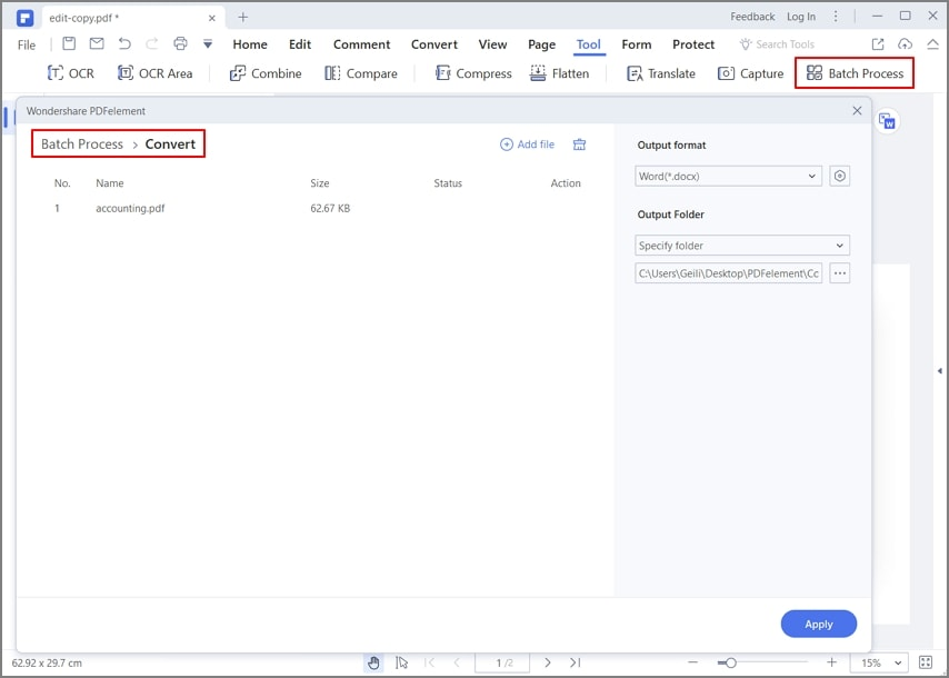 converti pdf in documento word editabile