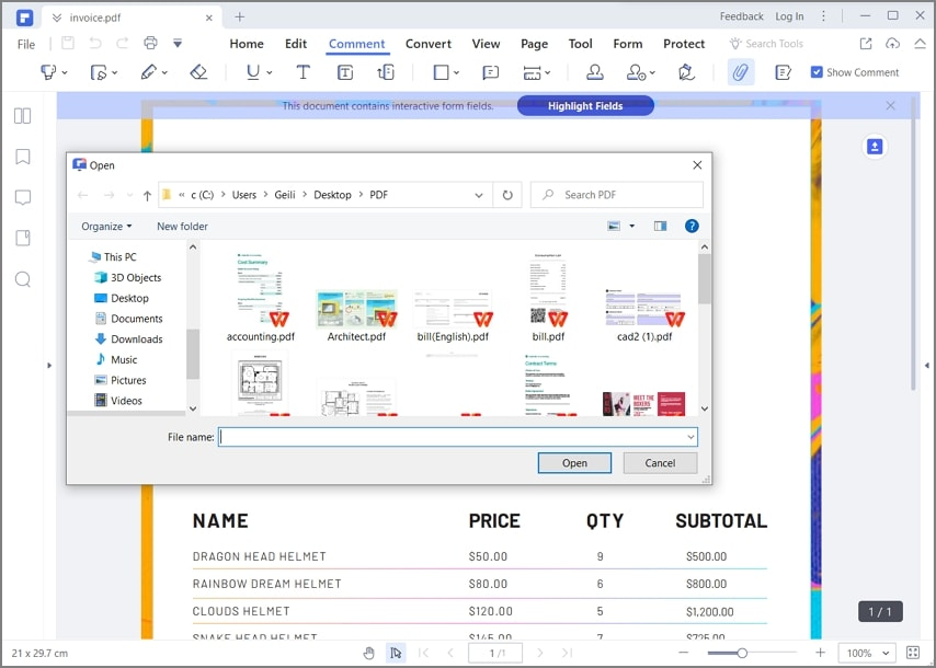 como inserir um documento word noutro documento word