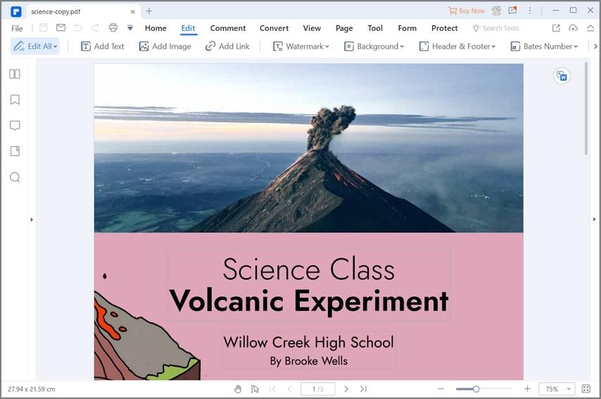 change font in pdf