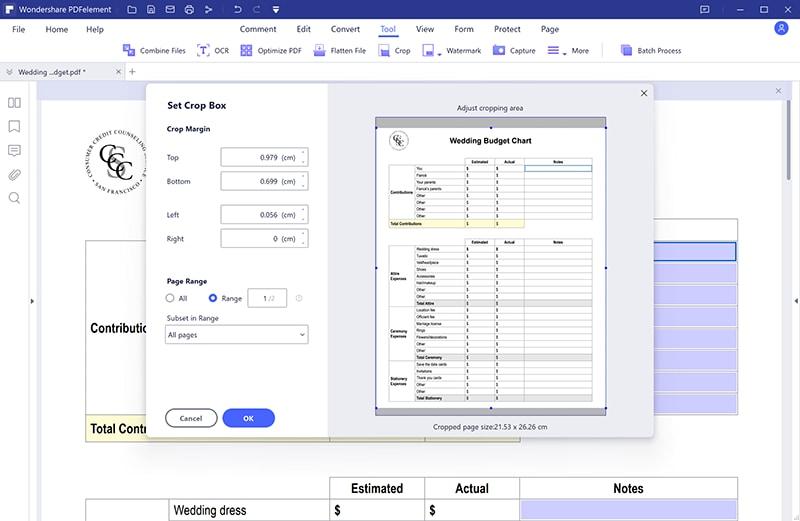 convert pdf to a4 size