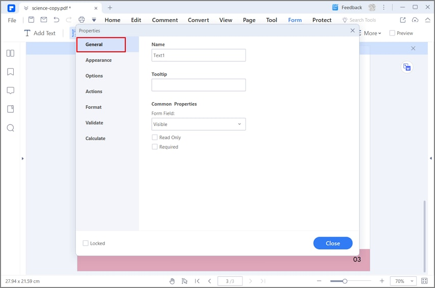 how to edit a pdf form