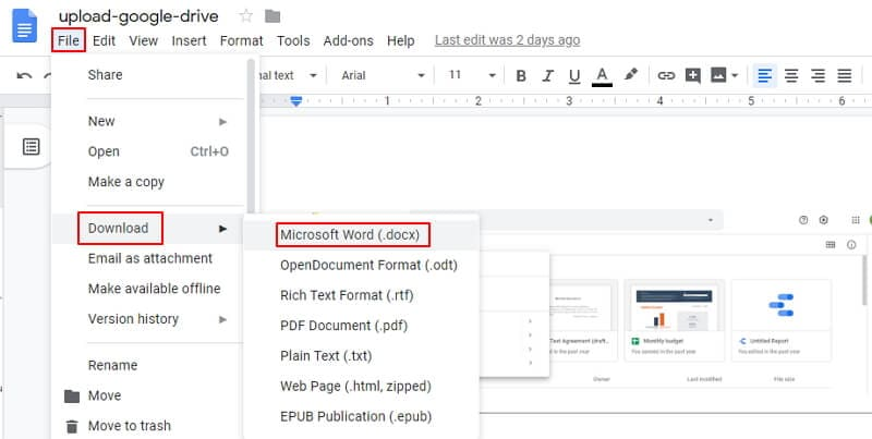 insert pdf into word 2016
