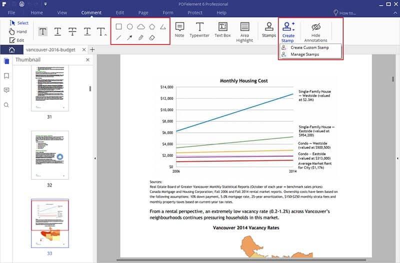 aggiungi timbri alle pagine dei pdf