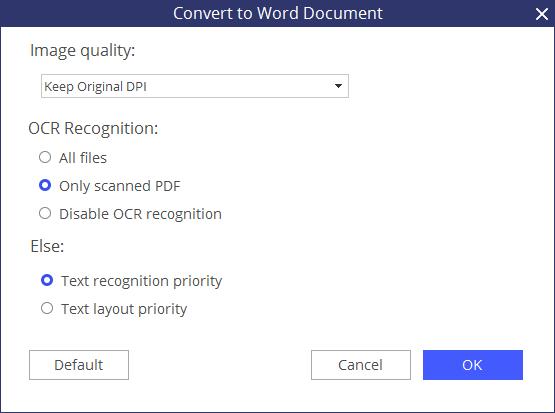 modificare i pdf con word