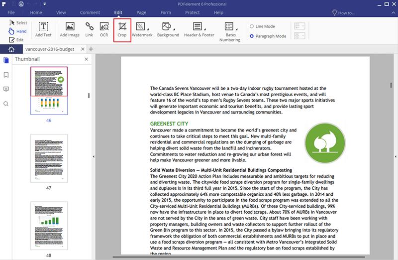 ein PDF schneiden