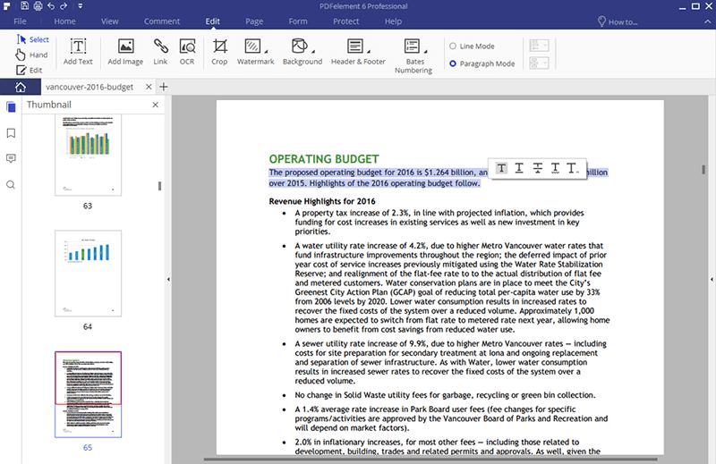 Text aus gescannten PDF-Dateien extrahieren