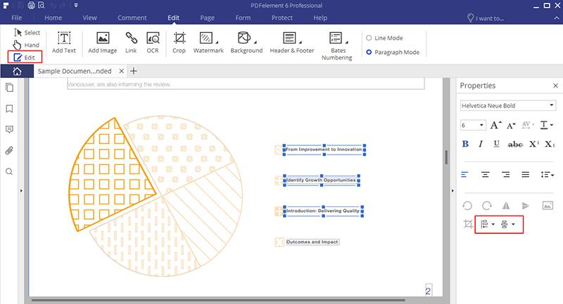 Microsoft Word-Ausrichtung