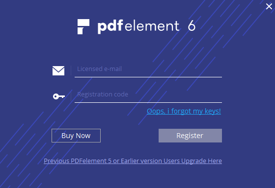 registra l'ocr di pdfelement