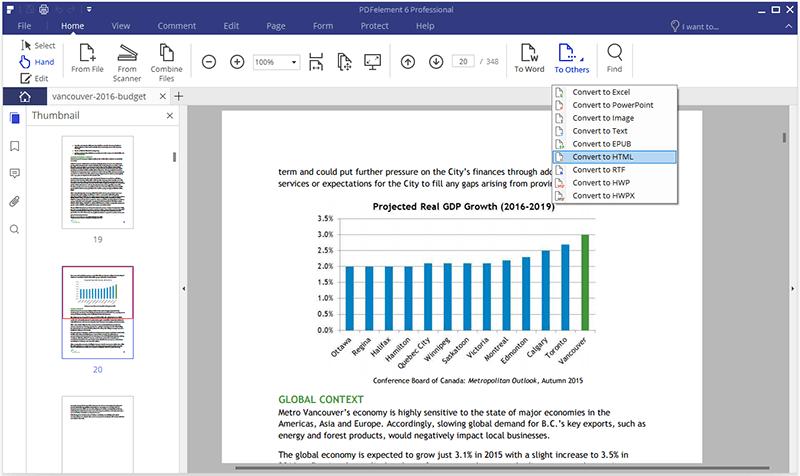 converter pdf para html em o nitro
