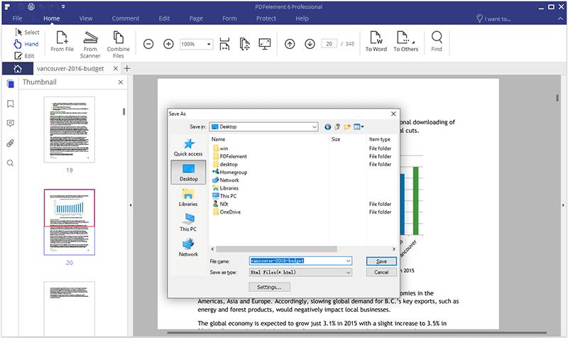 converter pdf para html