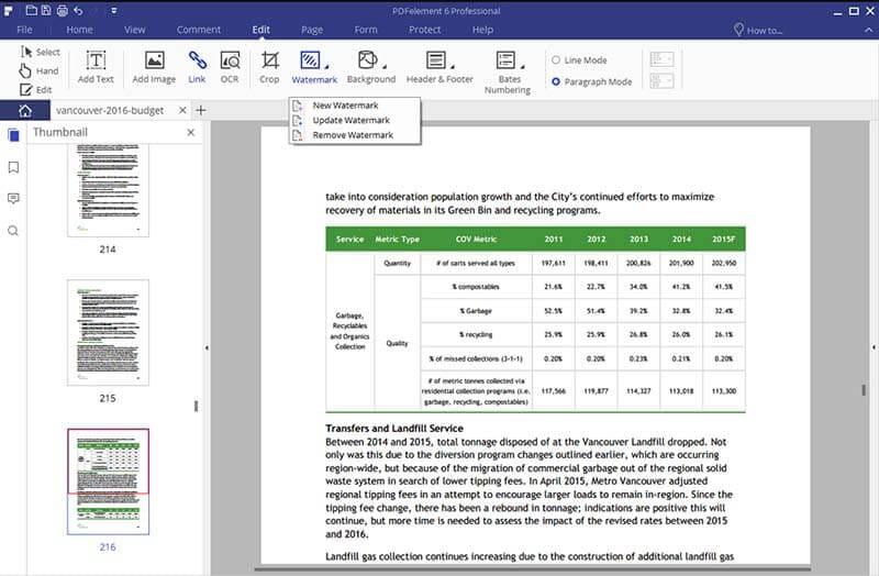 wie man Wasserzeichen aus PDF entfernen
