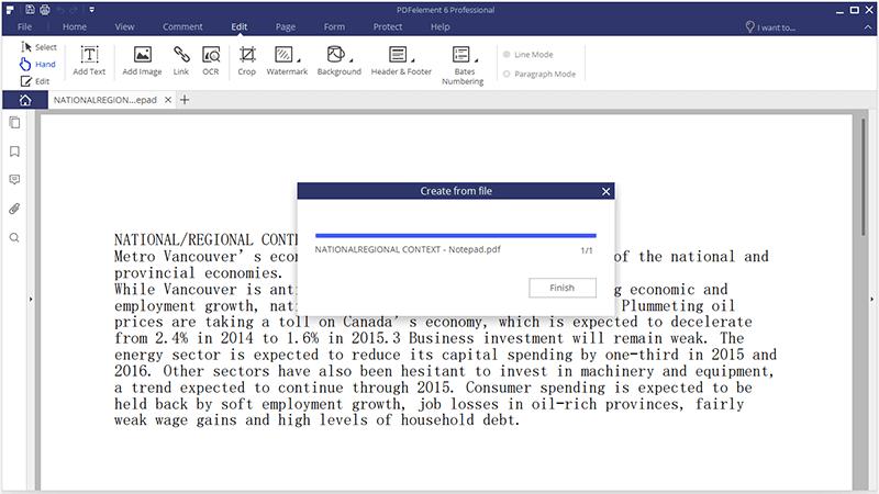 nitro text zu pdf