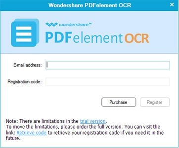 Register OCR Plug-in