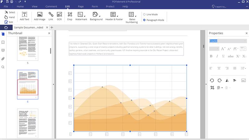 pdf editar objetos gráficos