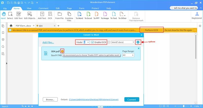 converter pdf digitalizado