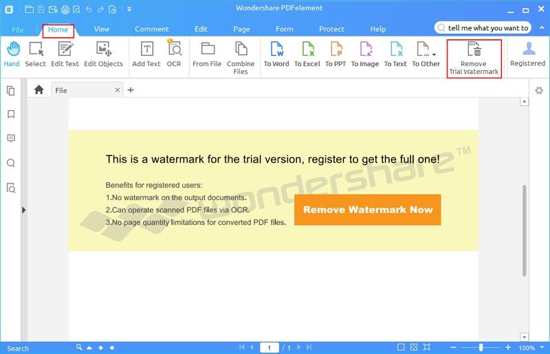 remover marca d`água de versão de avaliação
