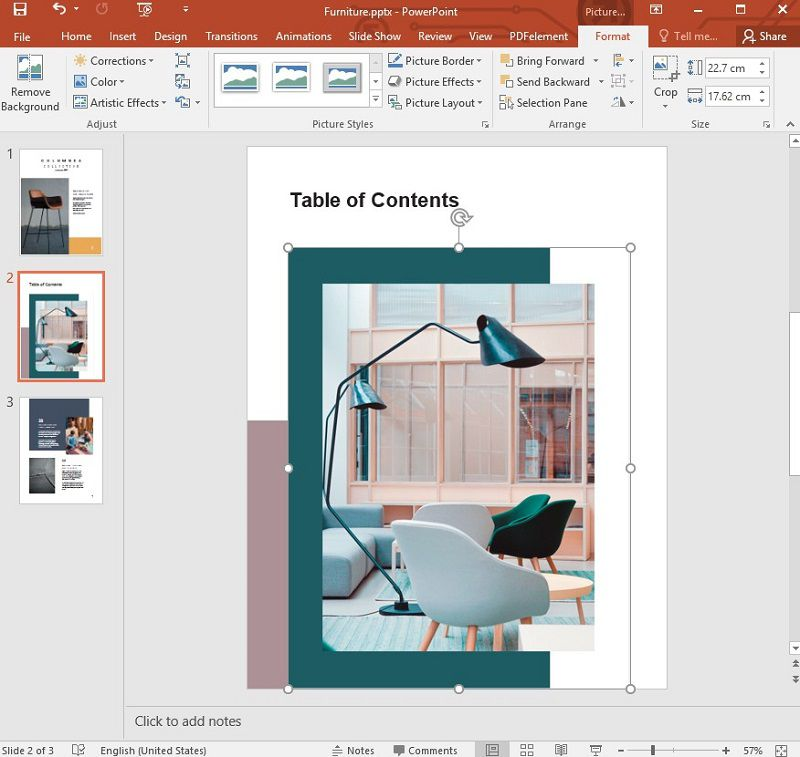 add pdf to ppt