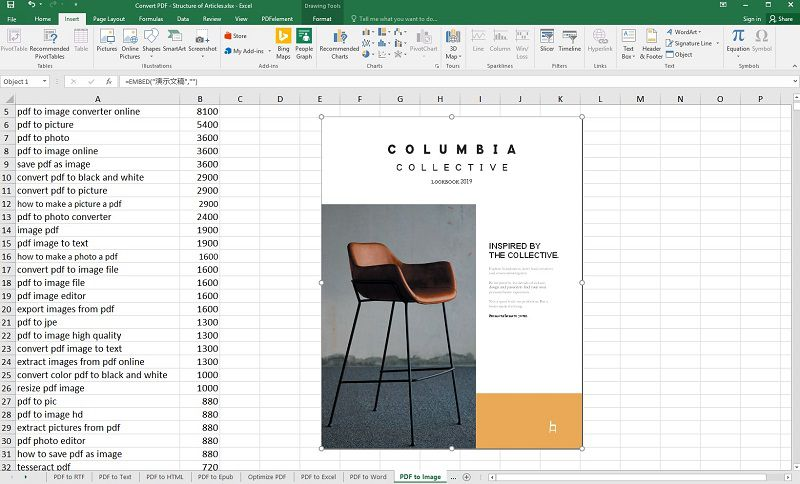 convert ppt to excel