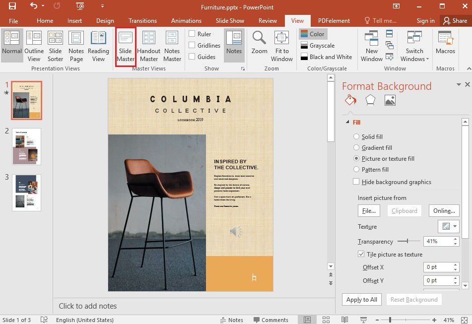 How To Edit Background Graphics In Powerpoint