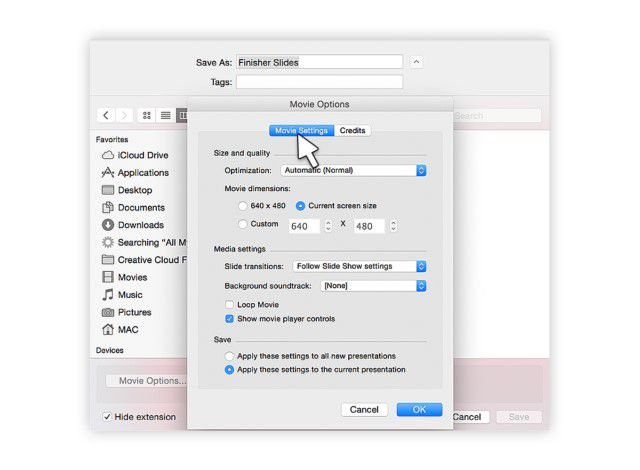 export powerpoint to video with audio mac
