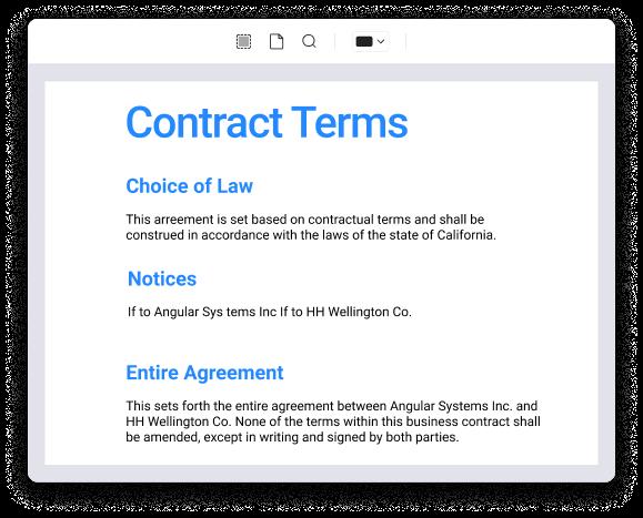 Biffer du texte sur mac