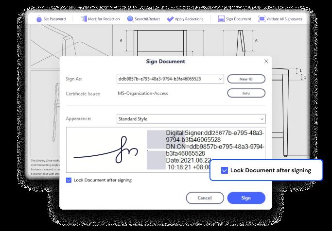 signature numérique pour protéger des pdf