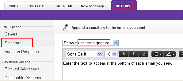 how to create an email signature with logo