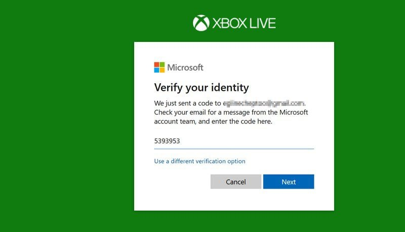 xbox one passwort ändern
