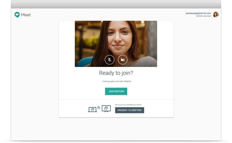 online meeting scheduler