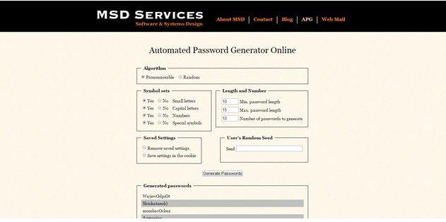 WLAN-Passwort-Ersteller