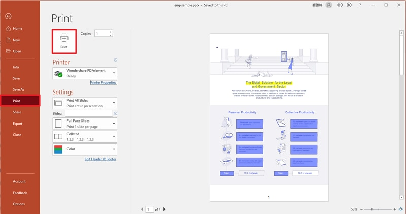 ppt to pdf high quality