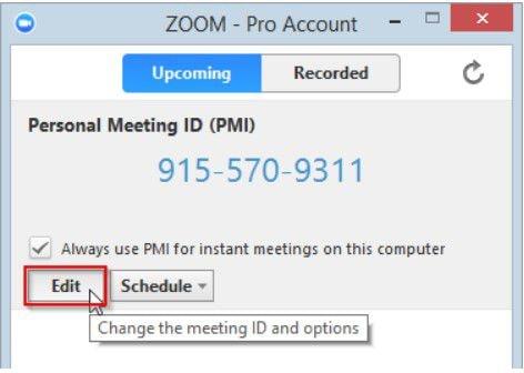 zoom personal meeting id