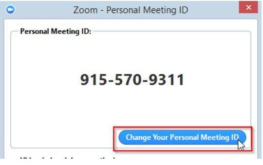 personal meeting id zoom