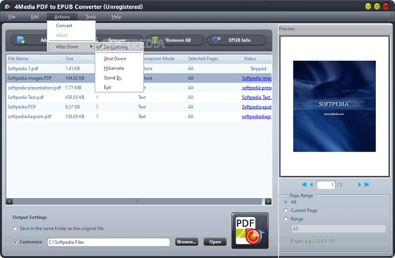 pdf to epub converter software