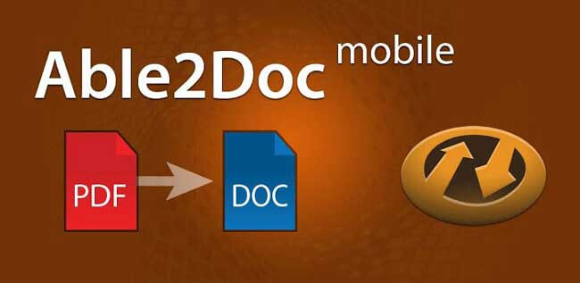 able2doc pdf to word