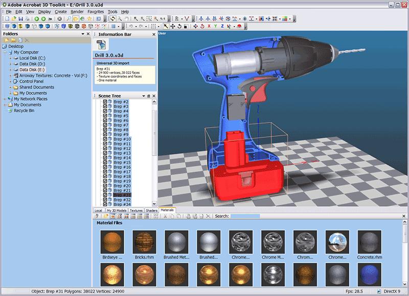3D-PDF-Betrachter