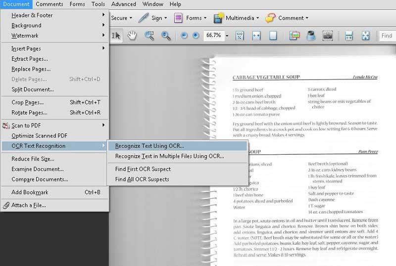 Modificare i PDF Scansionati con Adobe Acrobat