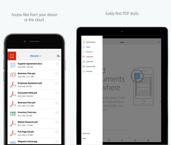 Was können pdf apps Dateien zu öffnen