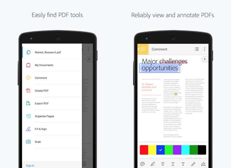 app pdf per android
