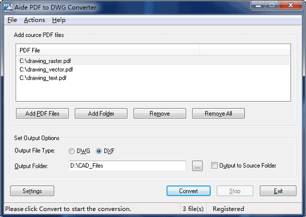 pdf to dwg converter download
