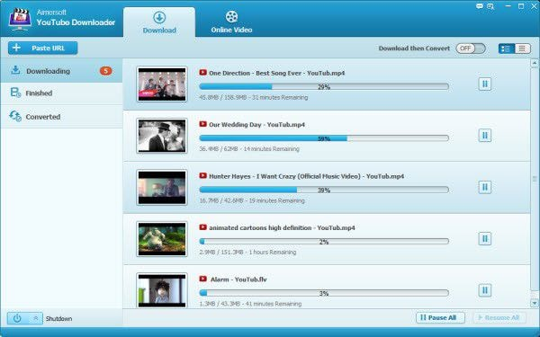 aimersoft youtube downloader for mac os 10.15