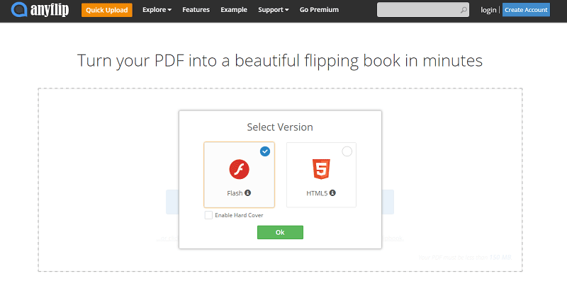 PDF in Flash-Flipbook konvertieren