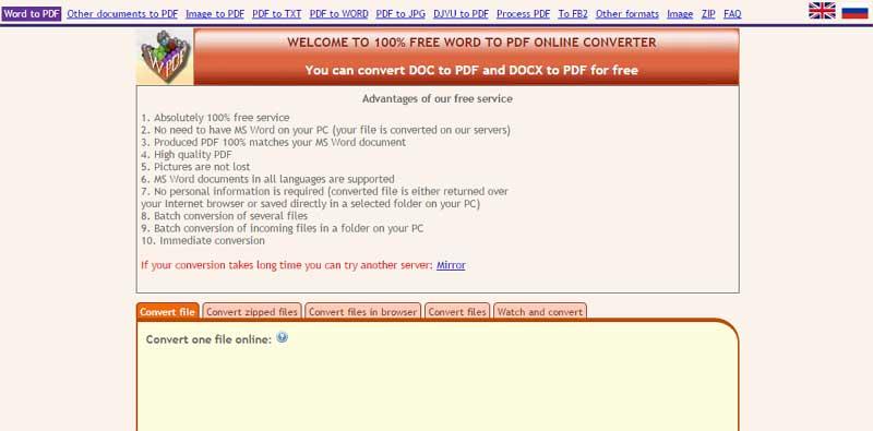 xls zum pdf Konverter kostenloser Download