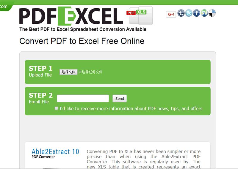convertisseur pdf en excel gratuit
