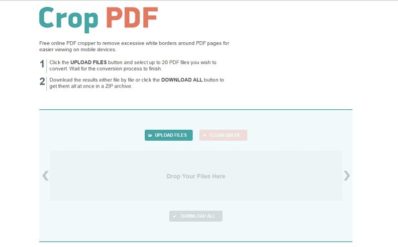 pdf kostenlos online zuschneiden