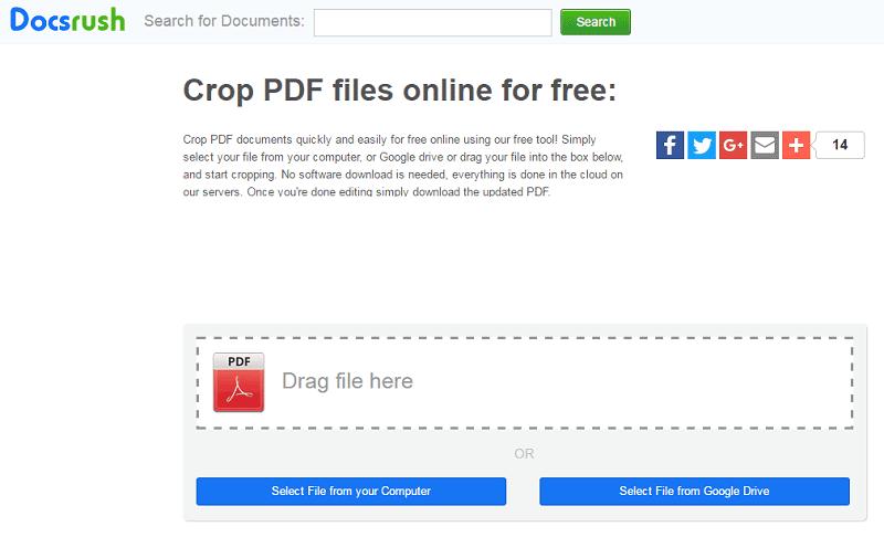 online pdf zuschneiden